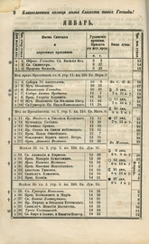 Месяцеслов на 1853 год