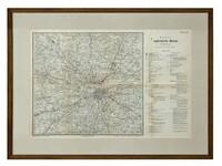 Карта окрестностей Москвы