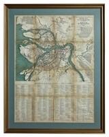 Новый план Санкт-Петербурга и окрестностей