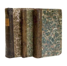 Римские древности, или изображение нравов, обычаев и постановлений римских, служащее для легчайшего уразумения латинских писателей. Комплект в 3-х книгах