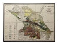 Геологическая карта кавказского края
