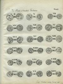 Монеты ханов Улуса Джучиева или Золотой Орды, с монетами разных иных мухаммеданских династий…