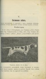 Конволют двух дореволюционных изданий, посвященных дрессировке охотничьих собак
