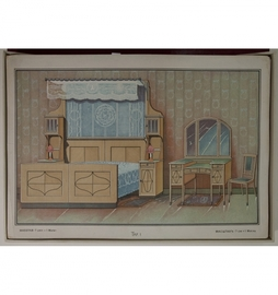 Альбом мебели столярных, новостильныхъ квартирныхъ обстановок